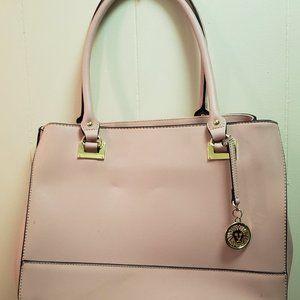 Anne Klein Petal Pink purse